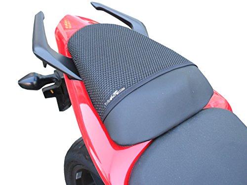 Cubierta TRIBOSEAT para Asiento Antideslizante Accesorio Personalizado Negro Compatible con Honda Cb500F...
