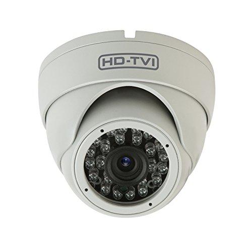 HDVD HDVD-T1ERF 720P Megapixel HD TVI CCTV Security Surveillance Eyeball Dome Camera 3.6mm Lens