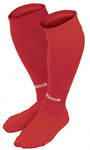 Joma Classic Calcetines de fútbol, Hombres, Rojo, M