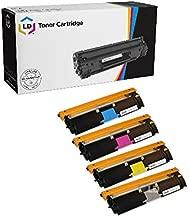 LD Remanufactured Toner Cartridge Replacements for Konica Minolta MagiColor 2400 & 2500 Series (Black, Cyan, Magenta, Yellow, 4-Pack)