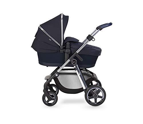 Silver Cross Pioneer Travel System Multi Terrain Baby Kinderwagen für Neugeborene bis Kleinkinder, für City to Off Road mit neigbarem Wende-Kinderwagensitz und Babytragetasche - Saphir