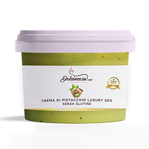 Crema al Pistacchio Luxury 50% di Pistacchi – 500g ottima Crema Spalmabile