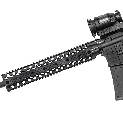 GunSkins Rail Skin - Premium Vinyl Wrap with Precut Pieces - Easy to Install and Fits Picatinny Quad Rail - 100% Waterproof Non-Reflective Matte Finish - Made in USA - Kryptek Typhon