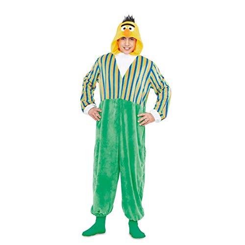Barrio Sésamo Disfraz Pijama de Blas para Adultos