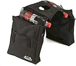 Offroading Gear ATV Saddle Bag with with Two Compartments for Quad, Motorcycle, etc.