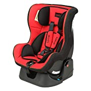 Certified as Per European Safety Standards (ECER44/04) 5 point safety harness secures your child from shoulders, waist & crotch 3 position Height-adjustable headrest & harness system Soft Padding on harness, head & seat for optimum safety Removable &...