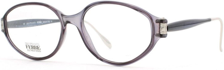 Gianfranco Ferre 442 9UK bluee and Grey Authentic Women Vintage Eyeglasses Frame