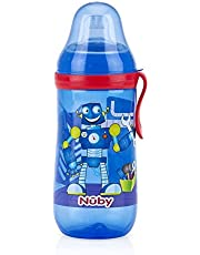 Nuby No-Spill Busy Sipper Spout with Cover 360 ml 6month, Aqua_10110268