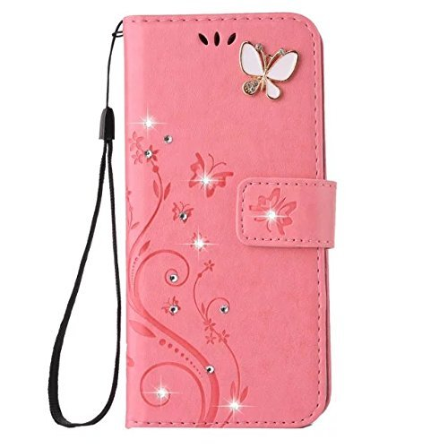 Cheapest Price! Cover for Samsung S20 Plus Wallet,Aulzaju Galaxy S20 Plus 3D Handmade Diamond PU Lea...