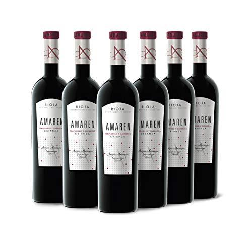 Amaren Crianza Vino Tinto Caja Cartón 6 Botellas - 750 ml