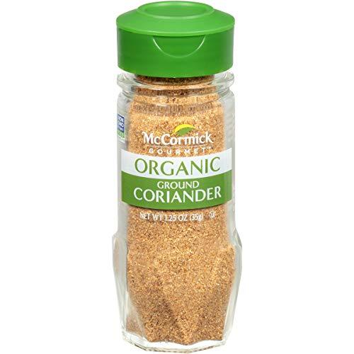 McCormick Gourmet Organic Ground Coriander, 1.25 oz