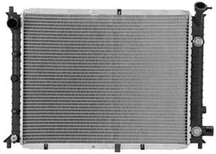 New Radiator For 1991-2002 Ford Escort And 1991-1999 Mercury Tracer Automatic Or Manual Transmission, Plastic Tank Design, Except ZX2, GT And LTS Models FO3010110