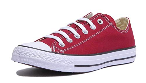 Converse Chuck Taylor All Star OX, Zapatillas Unisex Adulto, Rojo Burgundy M9691c, 38 EU
