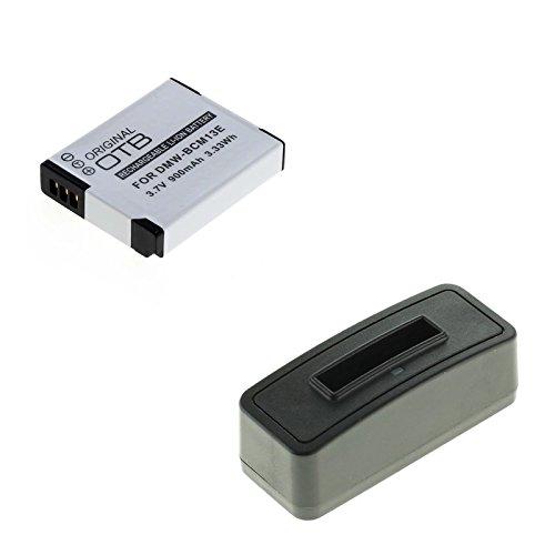 bg-akku24 Akku und Ladegerät für Panasonic Lumix DMC-FT5, DC-FT7, DMC-TZ41, DMC-TZ55, DMC-TZ56, DMC-TZ57, DMC-TZ58, DMC-TZ60, DMC-TZ61, DMC-TZ70, DMC-TZ71 - DMW-BCM13E, DMW-BCM13