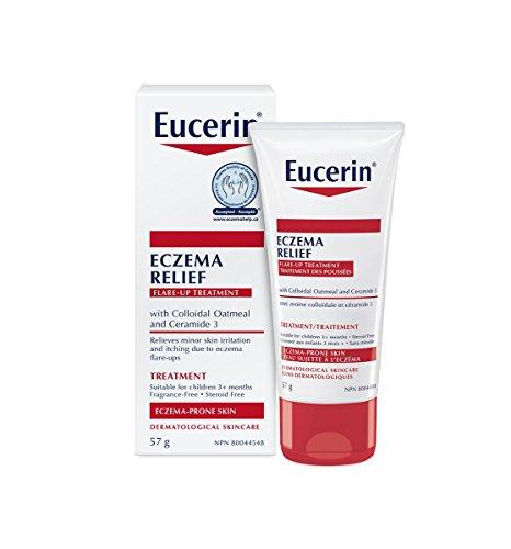 Eucerin Eczema Relief, Flare-up Treatment, 57 Grams