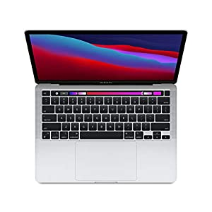 New Apple MacBook Pro with Apple M1 Chip (13-inch, 8GB RAM, 512GB SSD Storage) - Silver (Latest Model)