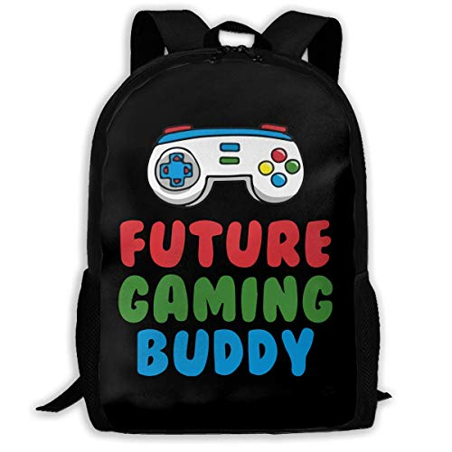 Ergonomischer Schulrucksäcke,Leichtgewicht Rucksäcke,Laptop Rucksack,Papa Future Gaming Buddy Rucksäcke Casual School Bags Bookbag