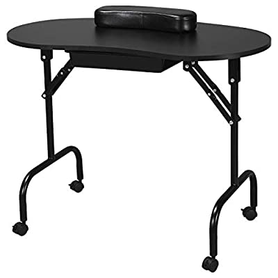 Yaheetech Manicure Nail Table Station