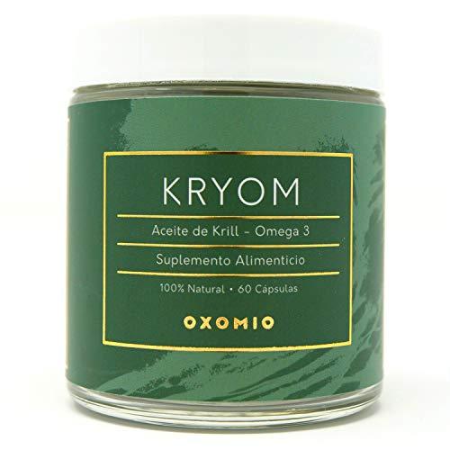 Kryom de Oxomio - Aceite de krill puro y natural (60 cápsulas)