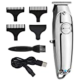 Hair Clippers for Men, Professional Hair Cutting Kit for Barber, Electric Hair Trimmer Rechargeable Clipper Hair Beard Nose Hair Trimmer Shaver
