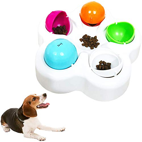 CALHNNA Pet IQ Intelligent Toy Smart Dog Puzzle Toys for Beginner, Puppy Treat Dispenser Interactive Dog Toys - Improve Your Dog's IQ, Specially Designed for Training Treats
