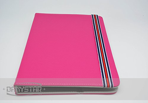 Custodia Cover Universale 9'' per tablets come DANYSTAR TAB-R908DC, Archos ARNOVA 90 G3, ARNOVA 90 G4 e compatibile con altri tablets fino a 9 pollici - (Fucsia) - Accessori per Tablet Danystar