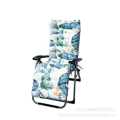 DFGVDFVBDFV Cojín reclinable, cojín reclinable de reemplazo, Viajes al Aire Libre Cojín reclinable para Tomar el Sol, cómodo Cojín de Asiento,B