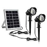 Luces solares para jardín Luz solar LED para exteriores 3 en 1,...