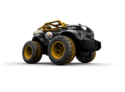 Officially Licensed NFL Remote Control Monster Truck Pittsburg Stealers