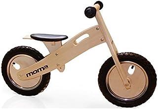 Moma Bikes Woody Classic Bicicleta, Unisex niños, Madera,