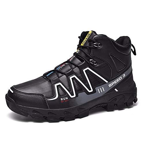 TYUU Hiker wandelschoenen, waterdicht, robuust, ademend, goede hechting, sneldrogend, duurzaam, nonchalant, trekking- en wandelschoenen