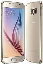 Samsung Galaxy S6 G920A 32GB Unlocked GSM (Renewed) (Gold)