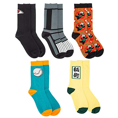 Anime Cosplay Socks 5 Pairs 1 Set