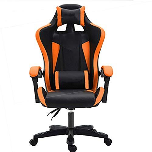 Ergonomischer Bürostuhl, Hochwertiger Stuhl-Mesh-Computer-Stuhl-Rakel-Büro-Stuhl liegend und hebt den Sessel des Staffs mit Fußstütze mit Fußstütze Für Zuhause und Büro