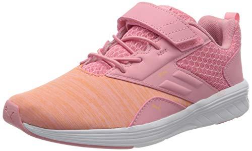 PUMA Unisex Kinder NRGY Comet V Ps Sneaker, Pink Peony Cantaloupe 15, 31 EU