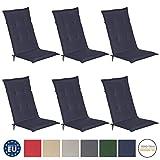Beautissu Loft HL - Set de 6 Cojines para sillas...