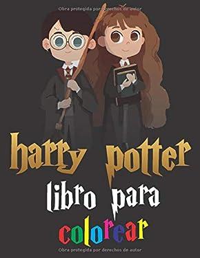 harry potter libro para colorear: Libro de colorear de Harry Potter para niños y niñas (Spanish Edition)