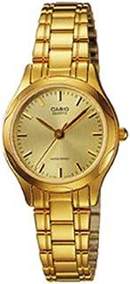 ساعة كاسيو النسائية مطلية ذهب LTP1275G-9ADF