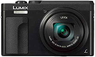 Panasonic LUMIX DMC-TZ90, 20.3 MP, 4K, 30X, Digital Travel Camera, Black