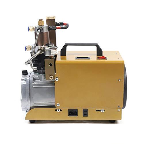 TBVECHI 30MPA 4500PSI High Pressure Air Compressor PCP Scuba Electric Air Pump