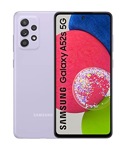 SAMSUNG Galaxy A52s 5G SM-A528B 16,5 cm (6.5') Dual SIM Ibrida Android 11 USB Tipo-C 6 GB 128 GB 4500 mAh Viola Galaxy A52s 5G SM-A528B, 16,5 cm (6.5'), 6 GB, 128 GB, 64 MP, Android 11,