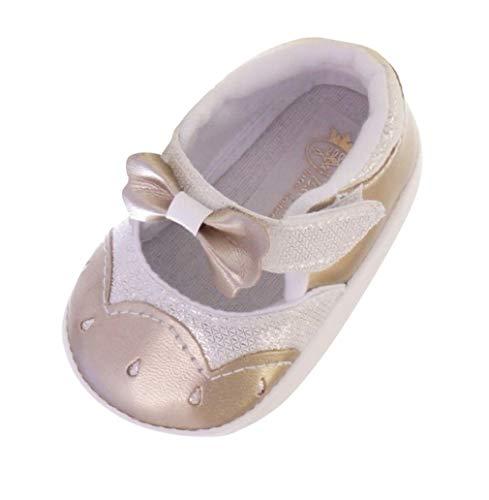 Zapatos de Fiesta para Bautizo o Boda – Zapatos de Bautizo para bebé, bebé, niña, niño, en Diferentes tamaños N 16 – 19, Color, Talla 18 EU