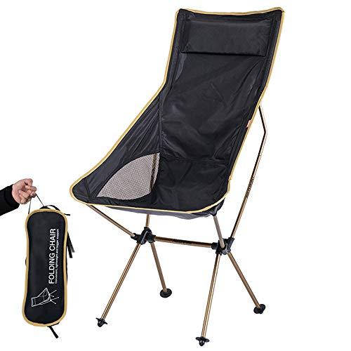 ポータブル屋外折りたたみ椅子、収納袋付きアルミニウムキャンプビーチチェア、メッシュ通気性ファブリック、なだめるような通気性、旅行用、オフィス用