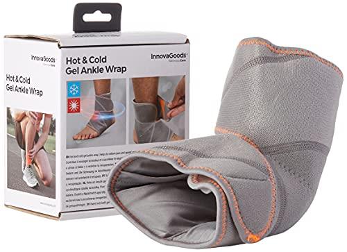 InnovaGoods IG813611 - Tobillera de Gel con Efecto Frío y Calor