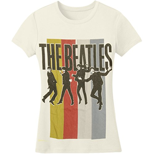 Juniors: The Beatles - Standing Group Juniors (Slim) T-Shirt Size S