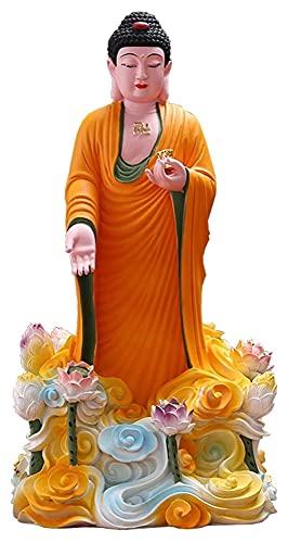Desktop-Skulptur Harz Skulptur Dekoration Buddha Statue Handwerk Statue Dekoration Wohnzimmer Zubehör Glückwunsch Feng Shui Statuette