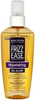 ジョン?フリーダ縮れ-容易栄養オイルエリキシルの100ミリリットル (John Frieda) (x2) - John Frieda Frizz-Ease Nourishing Oil Elixir 100ml (Pack of 2) [並行輸入品]