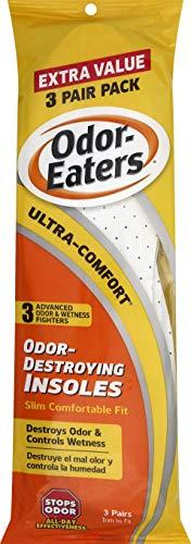Odor-Eaters Ultra-Comfort Insoles, 2.1 lb