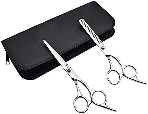 XHCP Friseurschere, 2ST 6-Zoll-professionelle Friseurscheren gesetzt, verwendet für dünnen und scharfen Salon, Friseur oder dem Heimgebrauch Schere Verdünnung