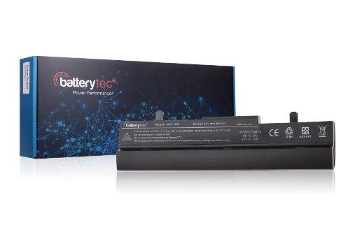 Batterytec® Batería para Asus Eee PC 1001HA 105VWT 1005 1005H 1005HA 1101HA 1101HA-MU1X 1101HA-MU1X-BK 1101HGO Asus: 90-OA001B9000, 90-OA001B9100, AL31-1005, AL32-1005, PL32-1005. negra [10.8v 4400mAh 12 meses de garantía ]